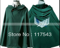 Attack On Titan cloak Attack On Titan cloak Attack on Titan Survey Corps Cloak Eren Mikasa Levi Cosplay Costume