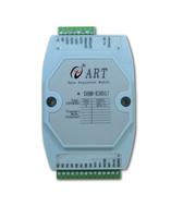 Dam-e3017 8 photomos relays 2 isolated digital input module