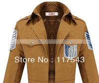 Attack on Titan Shingeki no Kyojin Recon Corps Army Coat top Jacket