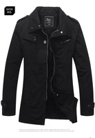 2013 new winter Business Casual men's jackets coat with warm cashmere slim jacket outwear tops M-XXXL free shipping