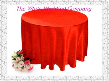 70'' 12 Red Tablecloth Round  Wedding Table Covers Table cloths for Weddings