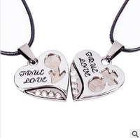 Kawaii fashion necklace Valentine's Day Gift pendant accessories LOVE