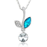 Birthday present for girlfriend gifts colnmnaris austria crystal necklace female fashion accessories