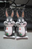 Retail cartoon rabbit Bugs Bunny USB Flash Drives thumb pen drives memory stick disk gift4gb 8dg 16gb