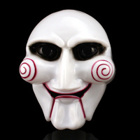 Adult's guy electric saw mask 65 Delicated Saw Cosplay Masquerade Horror Scary party mask Halloween carnival Mask wholesale hot