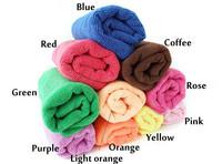 Cheap 20 pieces a lot Colorful Multipurpose microfiber cloth towel 30*60cm home use hotel use SPA use Massage use Freeshipping