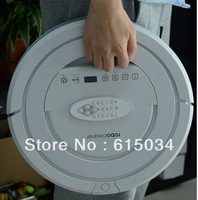 (Free to Ukaine ) 2013 Newest,6  in1 Robot Vacuum Cleaner with 6 dropsensors,Sonic Wall,2pcs Side Brushes,2pcs Rolling Brushes
