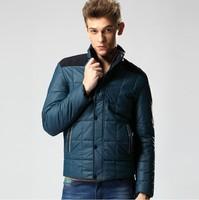2014 New winter Men's Coat waterproof warm and fashion top BIG quality SIZE L-3XL free shipping drop WARM jacket WINTER OVERCOAT