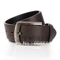 Free shipping. man' leather belt .real leather waist.cheap.fashion belt.New brand Pin buckle belts