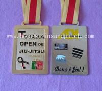 TOYAMA medal, GOLD, NICKEL, COPPER medallion,