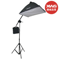 Photographic Equipment Set Including 60cm*60cm Softbox Universal 4 Lamp Holder One Cross-bars Flash Diffuser