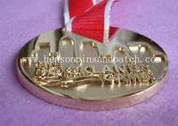 High quality, deep level, 3D medallion