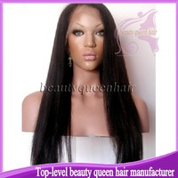 Instock 130%-180% high density silk top full lace wig ,glueless natuarl color yaki full lace wig with baby hair !