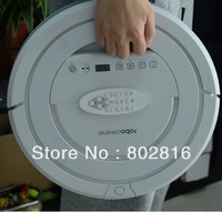Free shipping High Suction Power ,Top 5 in1 Multifunctional Mini Robot Vacuum Cleaner,nontouch chargebase,patent Sonic wall ,UV