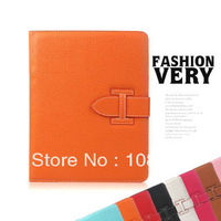 100/pcs New Brand Leather Case for apple iPad 4 3 2 Ipad  Stand Cover Leather Case  DHL/Fedex Freeshipping