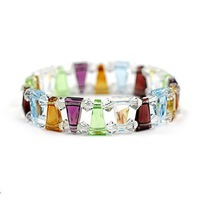 Crystal colorful bracelet fashion accessories women's gift