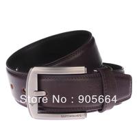 Free shipping. man' leather belt .real leather waist belts.cheap.fashion belt.New brand ,Pin buckle belts