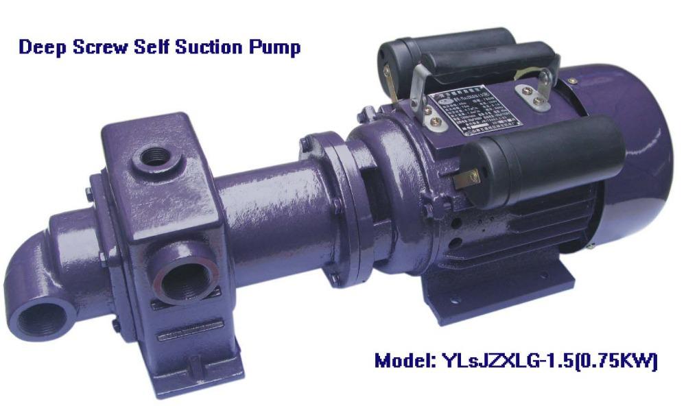 Electric Deep Screw Self Suction Water Pump (YLsJZXLG-1.5, 750W)(China (Mainland))