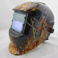 DIN7-DIN12 shading area solar auto darkening  welding helmets protection eyes mask/ welder cap for ZX7 TIG MIG welding machine