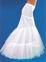 2 hoop white fishtail wedding dress petticoat crinoline