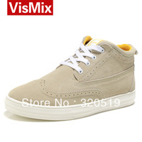 Male casual  high skateboarding shoes