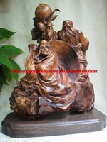 Top carving statues and materials southern pear ( symbol of longevity Lohan ) birthday birthday ornaments evil plague town