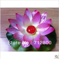 50pcs/lot  High quality Silk Lotus River lanterns Chinese Floating water lantern Wishing lanterns for New Year