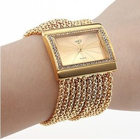 2013 New women Lady Ladies Bracelet watch bangle watch wristwatch fashion quartz watches rhinestone diamond watch Free shipping