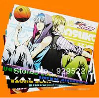 8pcs--16.5''x11.4'' Anime Kuroko no Basuke Cosplay High Quality Thick Embossing Posters Wall Sticker Gift  Free Shipping!