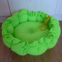 NEW Wholesale 1PCS Soft Sponge Strawberry Pet Dog Cat Bed Houses Lovery Warm Doggy Kennel  green