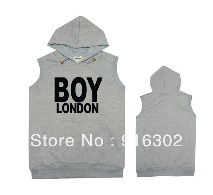 Cheap Men's Pyrex Waistcoat Jacket winter down Hip-Hop vests Superman Hoodies vsvp Coats sleeveless casual wear Boy london Grey(China (Mainland))
