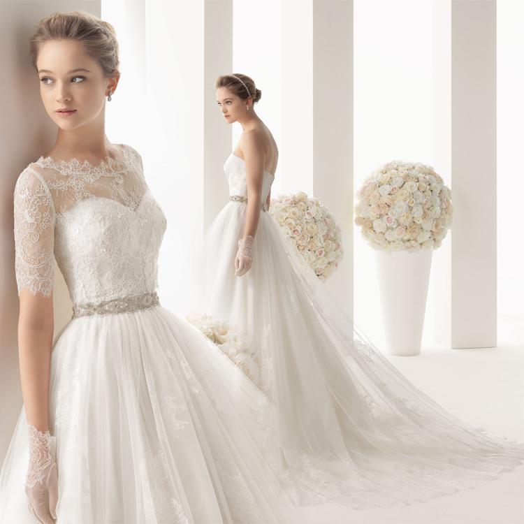 Wedding Dresses Types Of Sleeves - Flower Girl Dresses