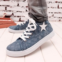 House new fall fashion tide shoes high tide canvas shoes sneakers Korean version of the British men's casual fashion shoes CB006