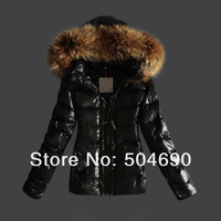 2014New Arrival Brand Fashion Lady's Down Parkas Women's Down Coat Short Warm Fur Collar Ladies Down Jacket Free Shipping