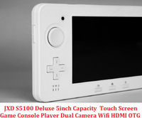 Promotion JXD S5100 Deluxe Game Console 5inch Capacity Touch Screen Dual Camera OTG Wifi HDMI Handheld Game Players