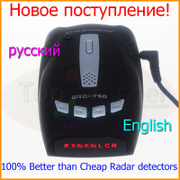 100% Brand-New High quality Car Radar Detector with Russian And English Voice Laser 360 Free Shipping !