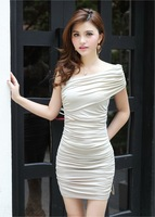 Free shipping on one piece dress for women, Cheap mini dress for party or club activities