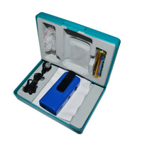 excellent quality  free shipping AXON F-22 Clip-on Super Personal Hearing Aid Aids set Blue
