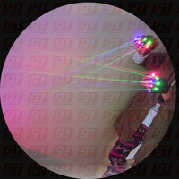 RGB laser gloves for stage and dancing, 3pcs laser modules