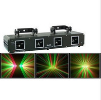 Red and green laser light laser light bar lights