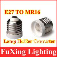 new items converters E27 to MR16 lamp socket,Free shipping LED E27 TO MR16 extend Base Light Bulb Lamp Adapter 10pcs/lot