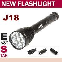 FS!Trustfire J18 TR-J18 SUPER BRIGHT LED Flashlight,8000 LM, 7* CREE XML T6 High Power Torch For Camping Hiking
