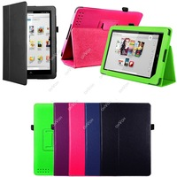 "S5Q 9"" Tablet Leather Smart Stand Case Cover Protector For Barnes & Noble Nook HD Free Drop Shipping"