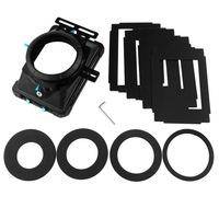 FOTGA DP3000 PRO DSLR matte box sunshade w/ donuts filter trays for 15mm rod rig follow focus