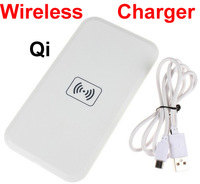 Wireless Qi Power Charger Pad for Nexus4 Lumia920/HTC 8X/Note II S3 i9300 White