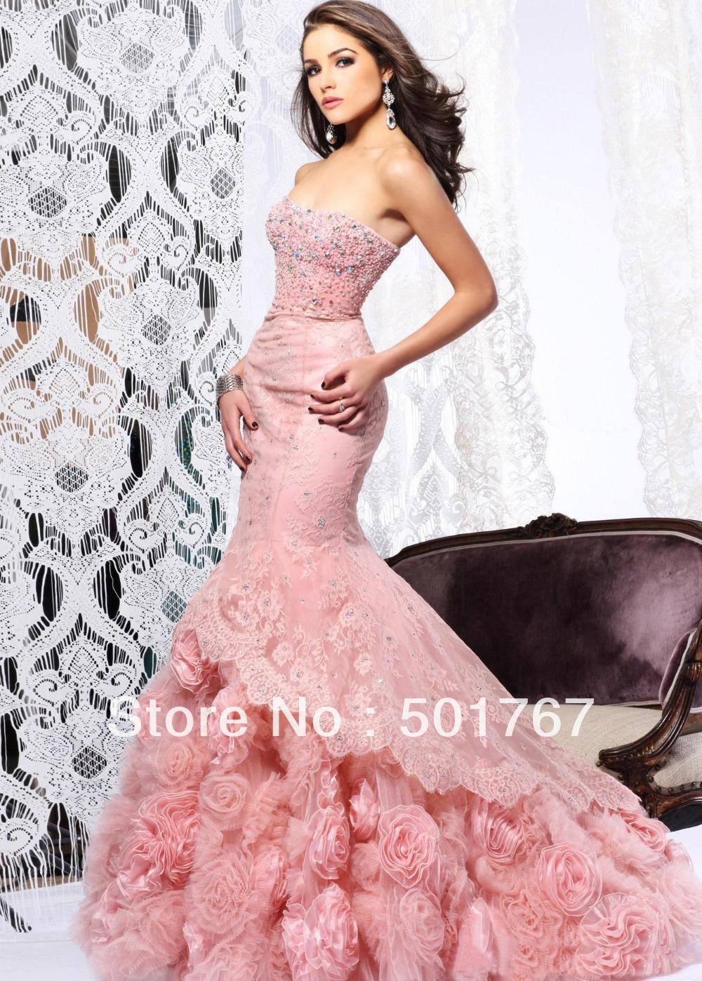 White Rose Wedding Dresses Lace 73