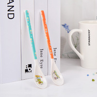 3511 child spoon coffee spoon stirring rod mug spoon personalized baby spoon  Free Shipping