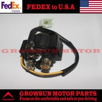 FedEx Free Shipping GY6 50cc Scooter Parts Relay Starter Solenoid for GY6 50cc 139QMA/139QMB Engine