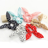 Free shipping hot sale   fashion  bowknot  hair ring