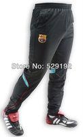 Black professional football tight leg training sport long pants Fashion soccer casual pants men's sports trousers